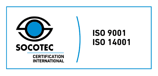 SOCOTEC CERTIFICATION INTERNATIONAL ISO9001 ISO14001